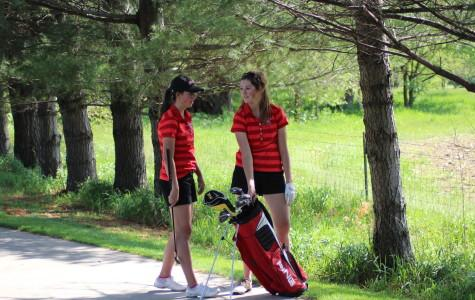 Girls Golf Places 2nd