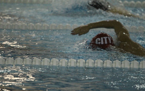 Boys Swimming falls to Cedar Rapids Washington