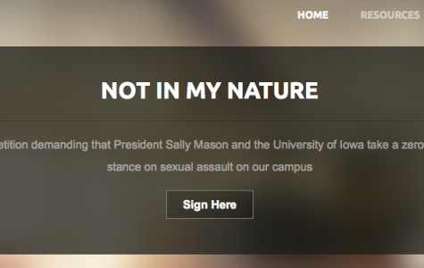 U of Iowa Students Protest Sally Mason