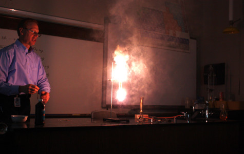 Chemistry Reactions Light Up the Room
