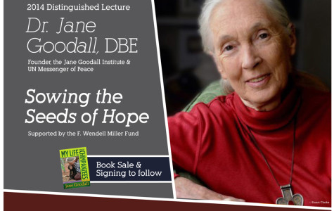 Jane Goodall to Speak at U of Iowa