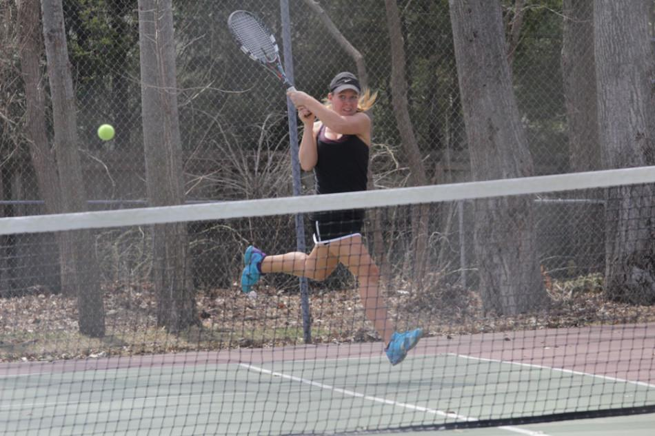 Girls Tennis Improves as Season Progresses