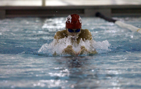 City High Girls Swim Team Falls to Linn-Mar
