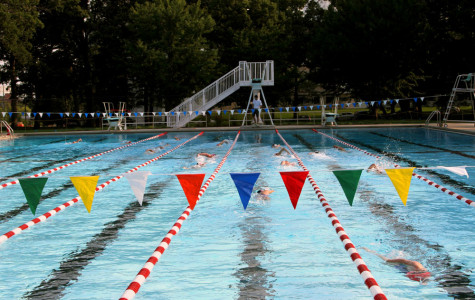 Girls Stay Afloat Against West High Taking Top Three Spots