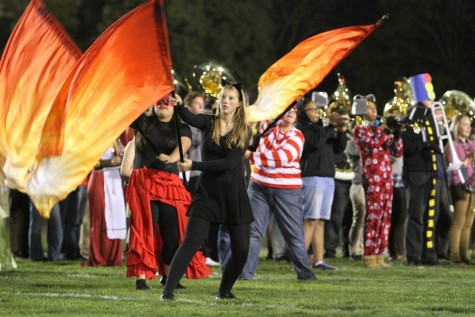 Color Guard Tryouts Bring New Faces