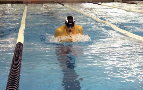 Seven Senior Swimmers Honored on Senior Night Against West