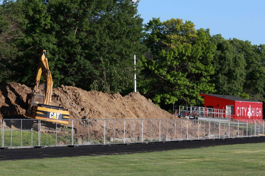 Construction Begins On Guest Stands At Bates Field