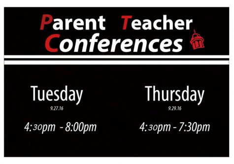 Two Parent-Teacher Conferences Scheduled this Week