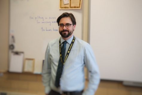 New Teacher Profile: Dr. Michael Ayers