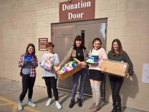 Tampon Tuesday Donation Dump