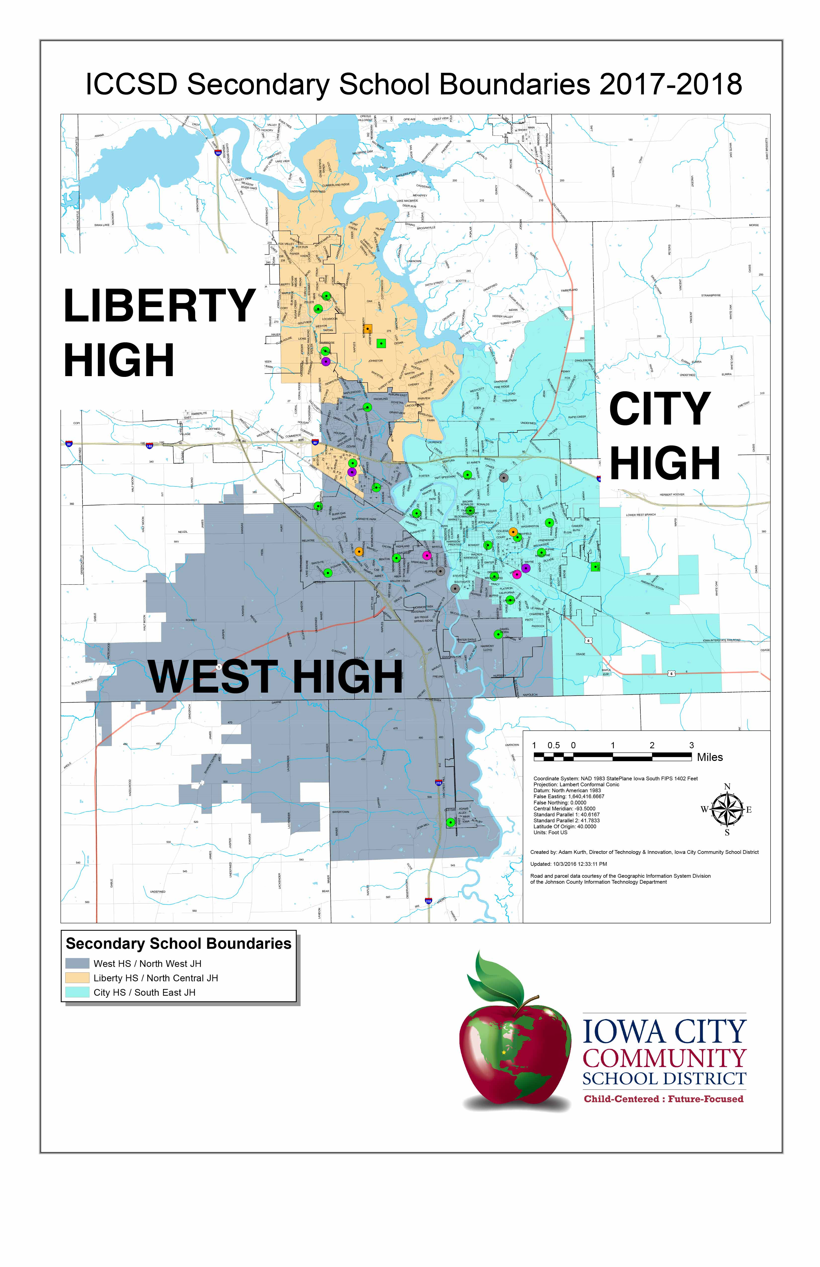 ICCSD Release New Boundary Maps and Transfer Rules