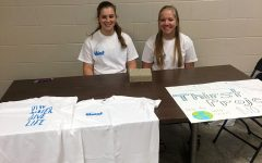 """Students Sell T-Shirts to Support the """"Thirst Project"""""""