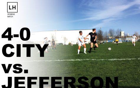 Cedar Rapids Jefferson Falls 0-4 Against City High