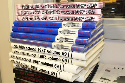 Current and Previous Yearbook Issues to be Sold