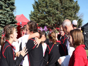 Rethwisch finishes 3rd, Girls Team 2nd and Boys 9th at State XC