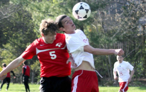 Boys Soccer Beats Cedar Falls w/ SLIDESHOW