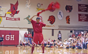 Little Hawk Pride: A Video and Slide Show of the Opening Pep Rally