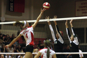 Volleyball Ranked No. 1 in State