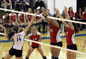 Volleyball Moves on to State Tournament