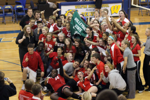 Volleyball Slide Show from Muscatine:  Students Must Obtain Parent Permission to Attend Volleyball Game