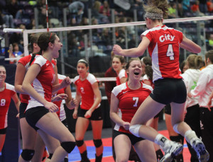 Volleyball Moves to Semi-Finals
