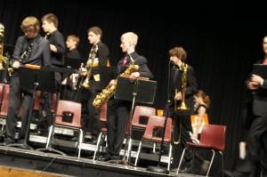 Jazz Ensemble IHSMA State Jazz Contest Performance