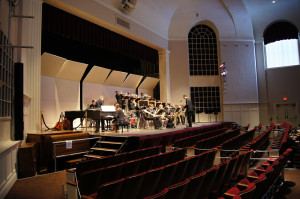 Jazz Ensemble performs at Coe College in Cedar Rapids