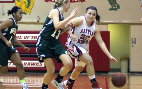 Girls Basketball Fights to the End