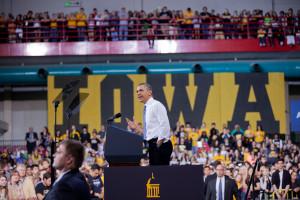 Obama visits U of I