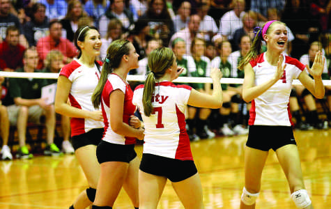 Volleyball Takes First Step