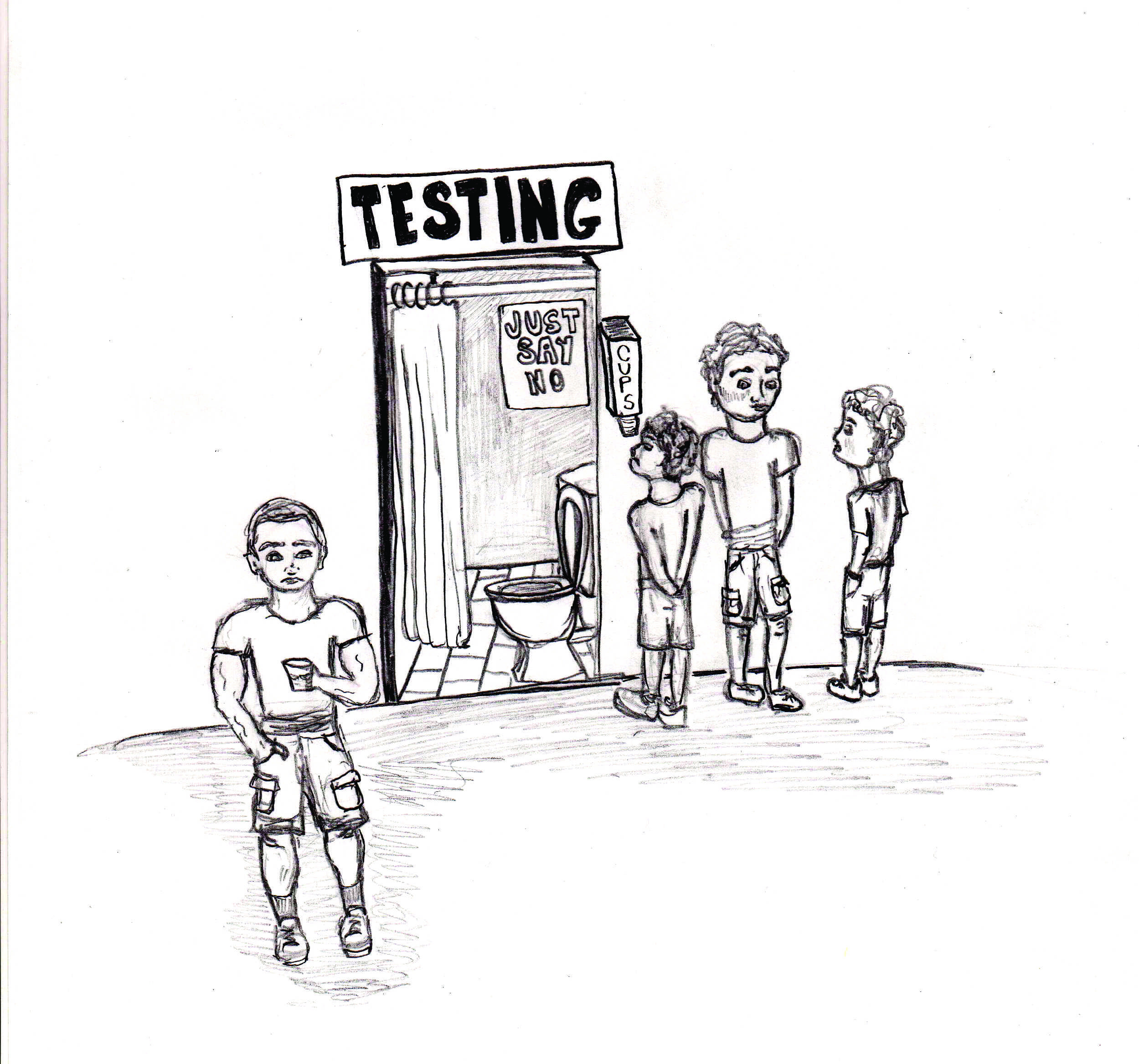 drug testing for school athletes Model student athlete drug testing policy school sports teams and the board reserves the right to require all student athletes to submit to drug tests to.