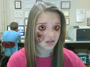 Zombies Take Over Photoshop Class – Zombie Slideshow