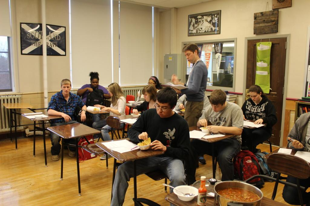 World lit class has spicy food cooking contest the little hawk world lit class has spicy food cooking contest forumfinder Images