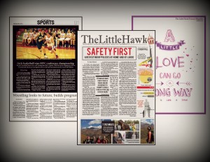 The Little Hawk Print Publications 2015-2016