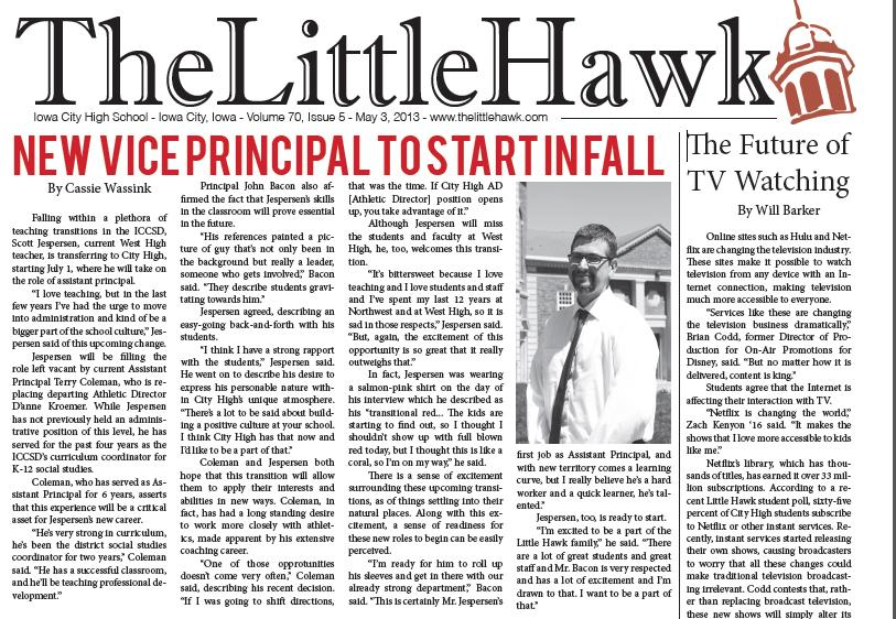 Little Hawk May Issue