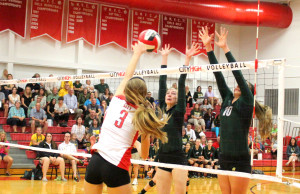 City Loses in Five to West