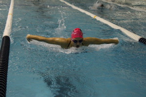 Swim Team Places First at Pink Out for Breast Cancer Meet