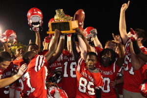City Now Ranked 8th after Beating West 14-7 to Bring Home the Boot