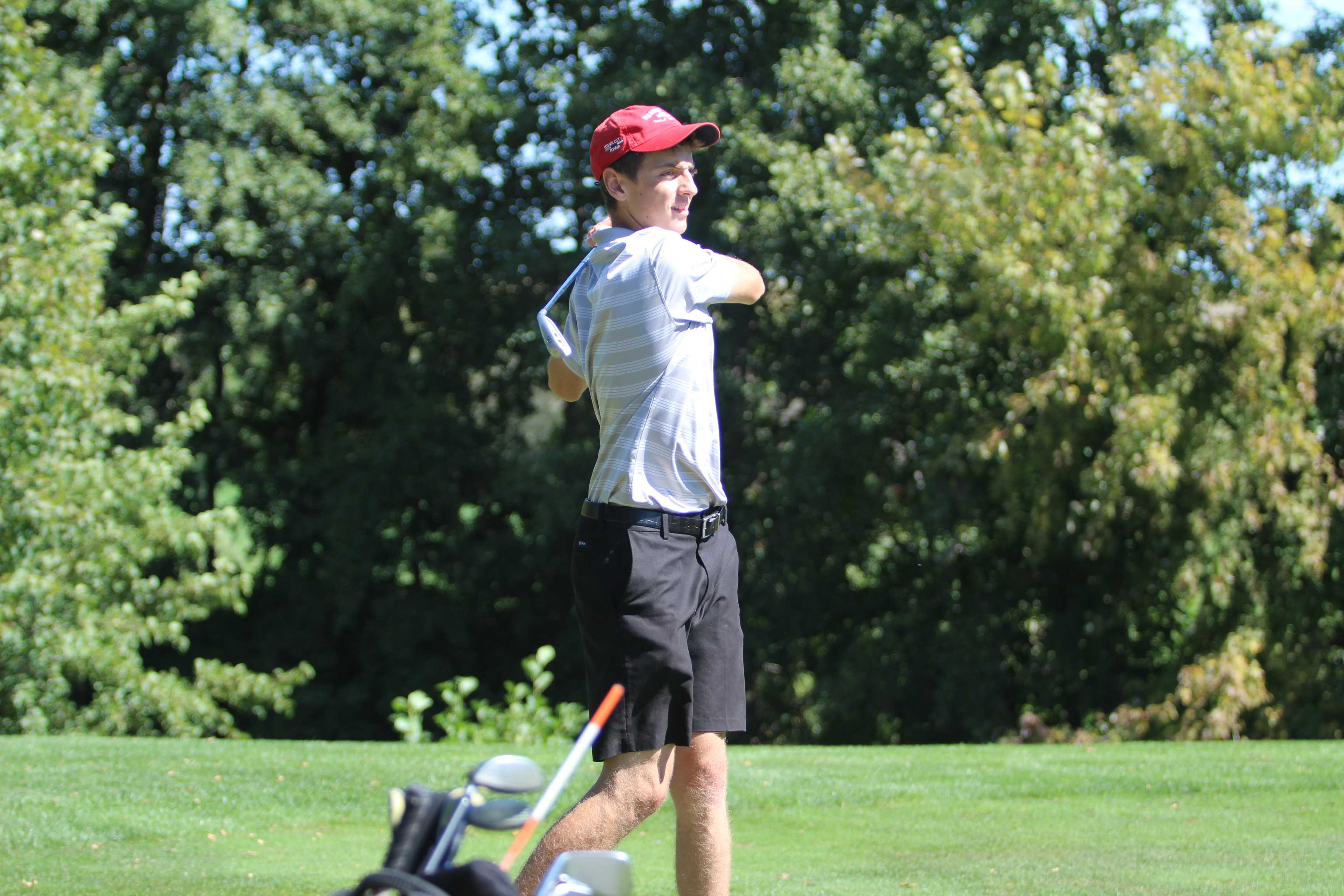 Boys Golf finishes in 10th place at districts at Elmcrest Country Club