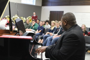 Wycliffe Gordon Practices with Jazz Band