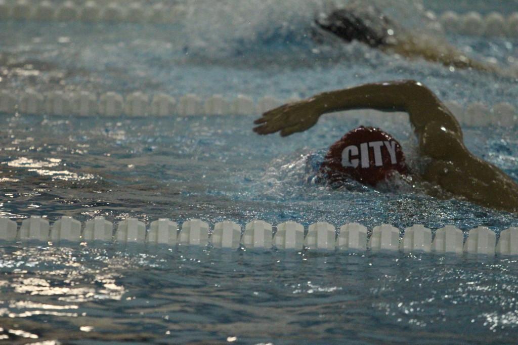 Boys Swimming falls to Cedar Rapids Washington