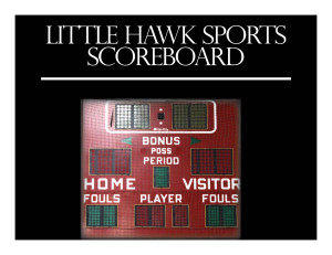 Little Hawks Defeat the Trojans