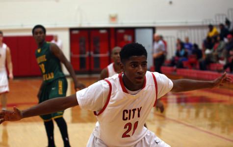 Boy's Basketball Team defeats Hempstead