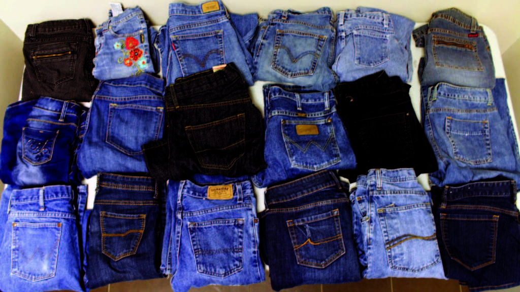 These+are+just+a+portion+of+the+jeans+in+the+box+in+the+main+foyer+donated+for+Jeans+for+Teens.+