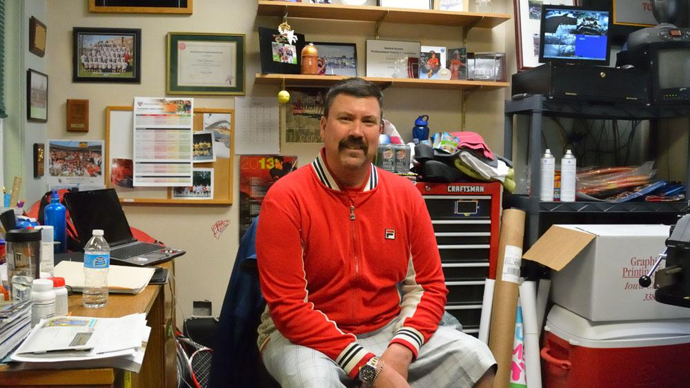 Coach Fred Pedersen