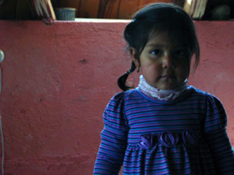 The family that owned our hostel in the Paramo had a little girl who was quite social with our group.