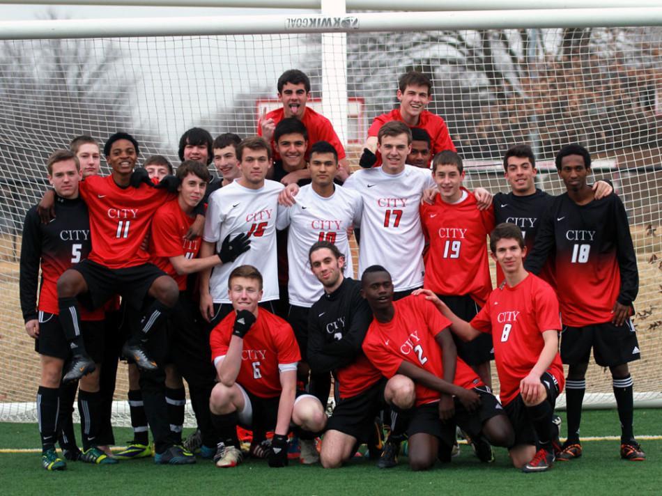 City+High+soccer+team+2014