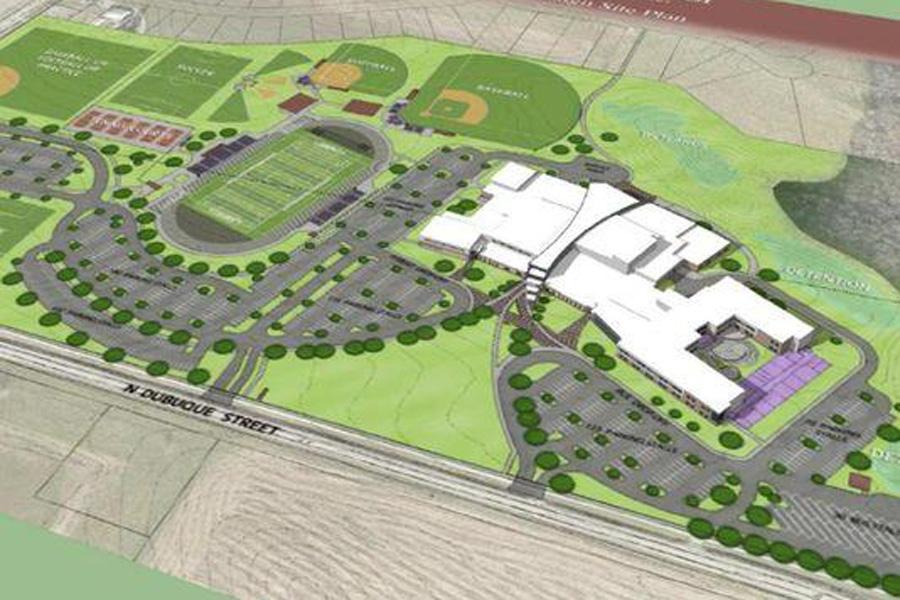 The+school+will+be+located+at+the+intersection+of+Dubuque+St.+and+North+Liberty+road+in+North+Liberty.