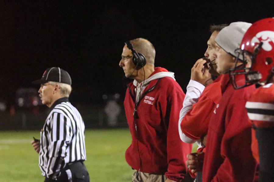 Coach Sabers 34th Football Season