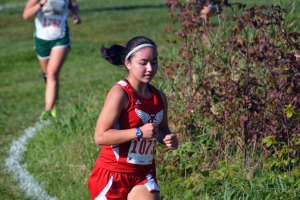 Izzy Shutt '16 keeps the pace at the Little Hawk Invitational